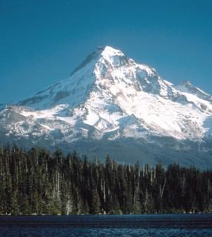 Mt. Hood (Credit: U.S. Geological Survey, via Wikimedia Commons)