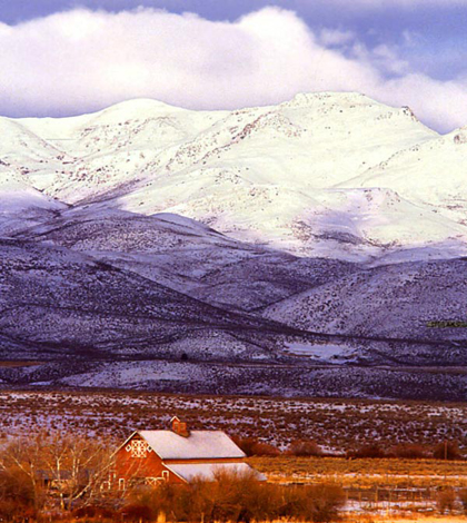 The Owyhee Mountains in Idaho are the site of the Reynolds Creek Experimental Watershed (Credit: U.S. Department of Agriculture)