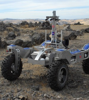 The project will deploy the K-Rex rover (Credit: Lorenzo Fluckiger/NASA)