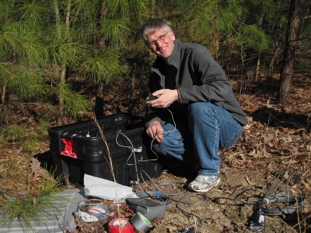 The seismometer network will help researcher better understand events like the 2011 Virginia earthquake that occur away from plate boundaries  (Credit: U.S. Geological Survey)