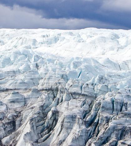 Greenland ice sheet (Credit: Joshua Brown/ University of Vermont)