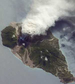Soufrière Volcano (Credit: NASA)
