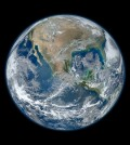 NASA satellite mosaic of Earth (Credit: NASA)