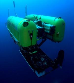 Nereus remote-controlled submarine (Credit: Advanced Imaging and Visualization Laboratory, Woods Hole Oceanographic Institution)