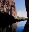 The Rio Grande River as it flows through Boquillas Canyon in Big Bend National Park. (Credit: Stewart Tomlinson/USGS)
