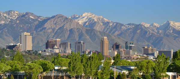 Salt Lake City (Credit: Garrett, via Flickr)
