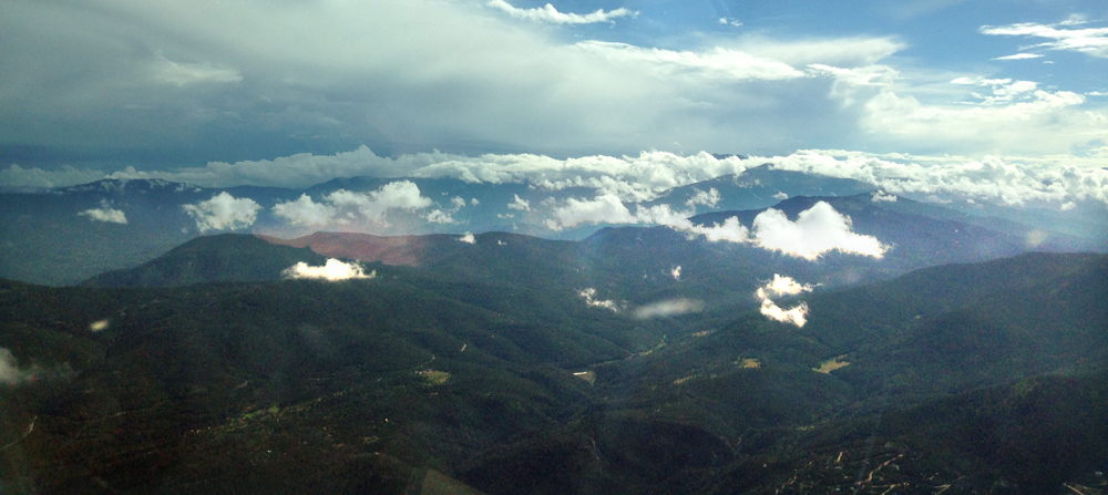 Researchers believe the northern Front Range plays a role in how air flows near Denver. (Credit: Frank Flocke)
