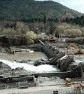 Savage Rapids Dam removal on the Rogue River in Oregon (Credit: River Engineering & Restoration Lab)