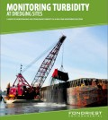 "The cover of Fondriest Environmental's new guide ""Monitoring turbidity at Dredging Sites"" guide"