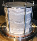 A new air purification device for the International Space Station. (Credit: Precision Combustion)