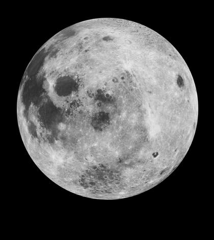 Some say the moon smells like gunpowder. (Credit: NASA)