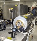 The U.S. Army's new gas-detecting laser. (Credit: Henry Everett, U.S. Army and Duke University)