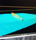 Sonar scan of the Gypsy Queen, which sank in the 1960s. (Credit: University of Washington)