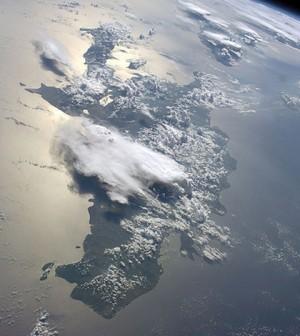 Haiti and the Greater Antilles. (Credit: NASA)