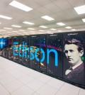NERSC Cray Edison supercomputer cluster. (Roy Kaltschmidt / Lawrence Berkeley National Laboratory)