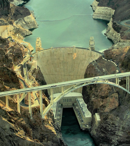 The Hoover Dam. (Credit: Airwolfhound, via Flickr/CC BY-SA 2.0)