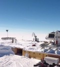 Antarctica's Princess Elisabeth Research Station relies mostly on wind and solar power. (Credit: International Polar Foundation)