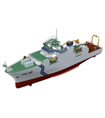 South Korea expands the scope of their research vessels. (Credit: Korean Institute of Ocean Science and Technology)