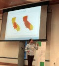 A water consumption mobile app won in a University of Oregon design competition. (Credit: University of Oregon)