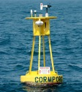 Buoy 41036 provided critical data, but maintenance costs became more than CORMP could cover. (Credit: UNCW/Jamie Moncrief)