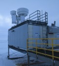 Researchers studied what effect carbon dioxide has on the planet's surface energy balance. (Credit: Jonathan Gero)