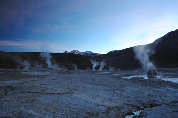 UC Berkeley scientists studied geysers to better understand how Earth transfers water and heat. (Credit: University of California, Berkeley)