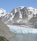 Glacial runoff entering the sea. (Credit: Oregon State University)