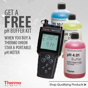 Thermo Scientific Orion Portable pH Meter and Buffer Kit