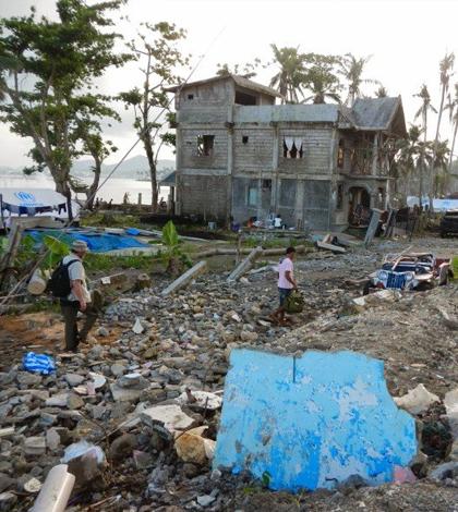 Typhoon Haiyan was the strongest hurricane ever recorded to make landfall. (Credit: Bayani Cardenas)