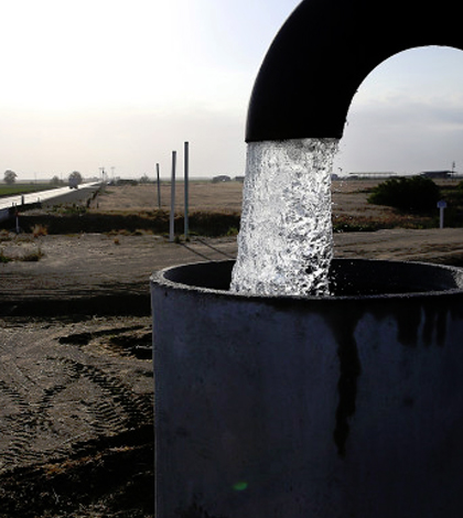 A California well being pumped. (Credit: Justin Sullivan / Getty Images)
