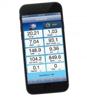 New app works with In-Situ water quality meters. (Credit: In-Situ)