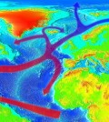 Map of the Gulf Stream. (Credit: RedAndr/CC BY-SA 4.0)