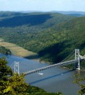 The Hudson River as seen from Bear Mountain.