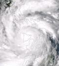 A super typhoon centered over Philippines' Panay Island. (Credit: NASA/NOAA)