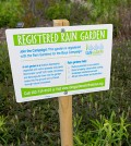 Sea Grant partners are offering a popular Rain Garden app for homeowners in the Mid-Atlantic. (Courtesy of the University of Delaware)