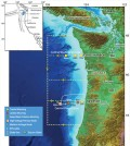 Map of the Endurance Array including Oregon and Washington lines. (Credit: Woods Hole Oceanographic Institution)