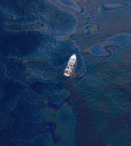 Oil spills, like the Deepwater Horizon spill pictured here, happen more often than reported. (Credit: Kris Krüg/CC BY-SA 2.0)