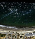 An AVIRIS-NG visible-light aerial view of the Refugio Incident oil spill near Santa Barbara, California. (Credit: NASA/JPL-Caltech)