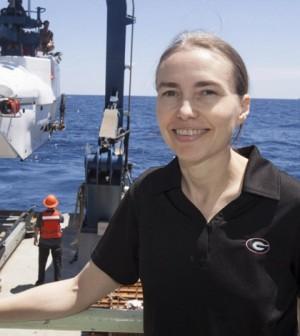 Samantha Joye is a professor of marine sciences at the University of Georgia. (Credit: Todd Dickey / University of Georgia)