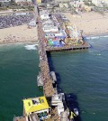 Santa Monica Pier is one of the beaches participating in the water quality information program. (Credit: JCS/CC BY-SA 3.0)
