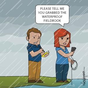 Waterproof Field Book