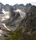 Canada's Cirque of the Unclimbables along the border of the Yukon and Northwest Territories. (Credit: Ed Struzik)