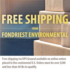 Free Shipping from Fondriest Environmental