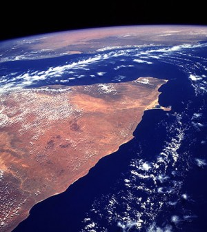 Horn of Africa. (Credit: NASA)