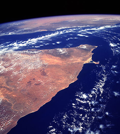 Horn of Africa. (Credit: NASA)