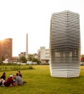 The Smog Free Tower. (Courtesy of Studio Roosegaarde)