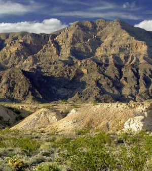 Gass Peak, near Las Vegas. (Credit: Eric Scott)