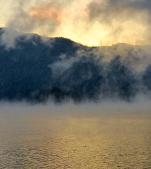Lake evaporation. (Credit: Public Domain)