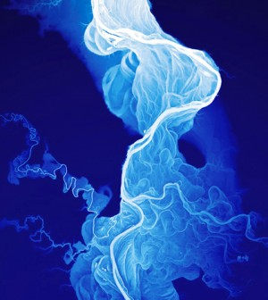A cartographer created a beautiful visual history of the Willamette River. (Credit: Daniel Coe)