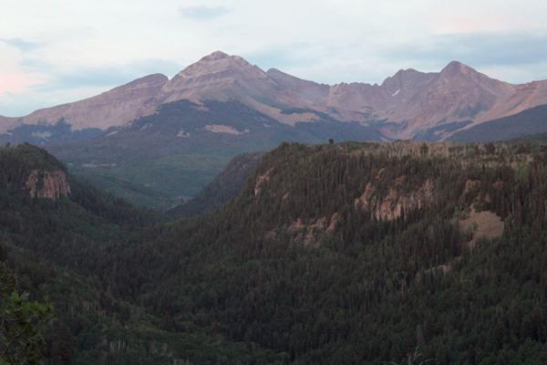 The La Plata Mountains. (Credit: Leander Anderegg / University of Washington)